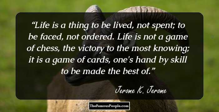 Jerome K Jerome Quotes Facebook thumbnail