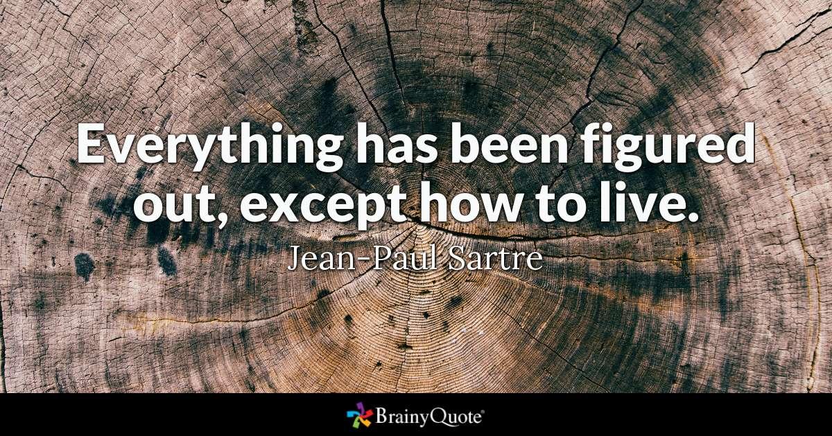John Paul Sartre Quotes Pinterest thumbnail