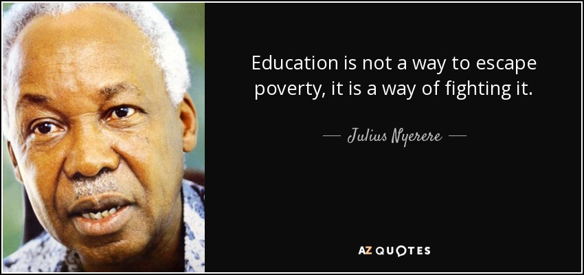 Julius Nyerere Quotes On Education Facebook thumbnail