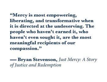 Just Mercy Bryan Stevenson Quotes Facebook thumbnail