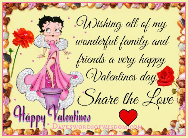 Happy Valentines Day Friends And Family Images Twitter thumbnail