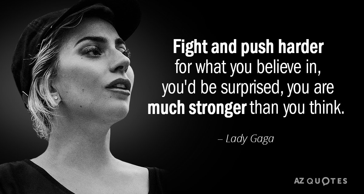 Lady Gaga Sayings Pinterest thumbnail