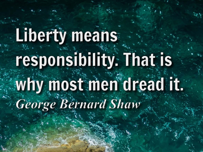 Lady Liberty Quote Facebook thumbnail