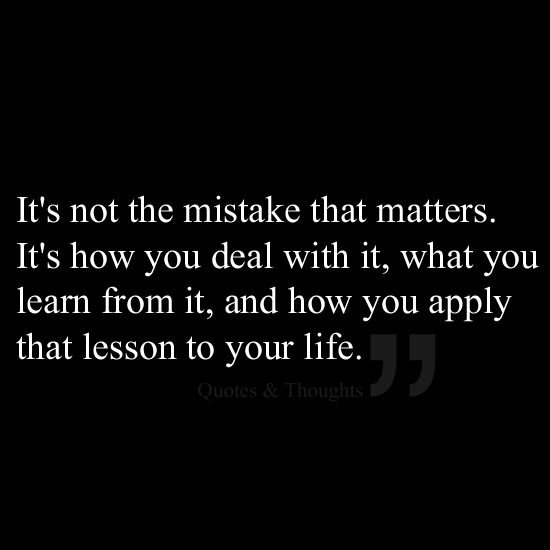 Learning From Mistakes Quotes Facebook thumbnail