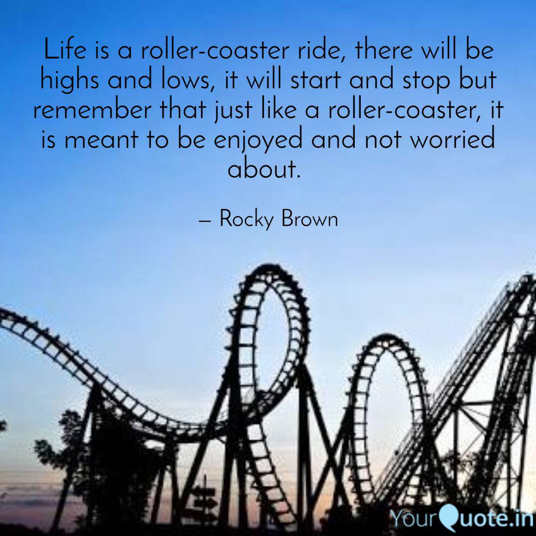 Life Is A Rollercoaster Quotes Facebook thumbnail