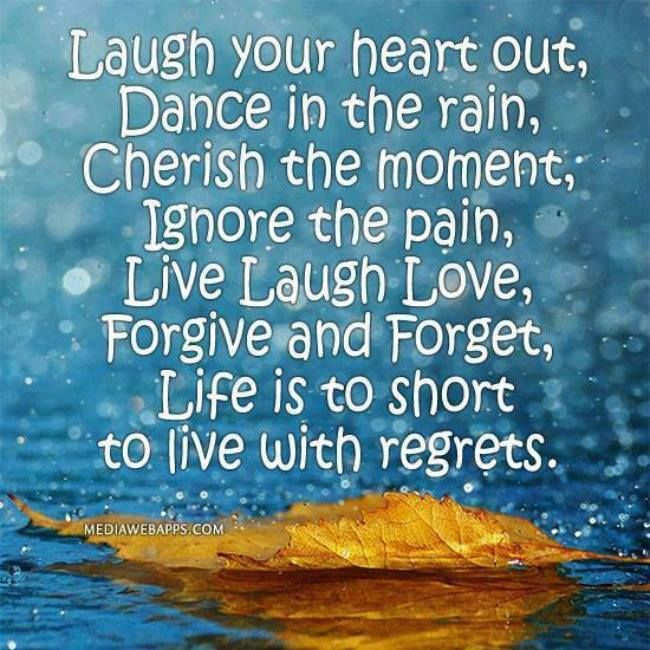 Life Is Too Short For Regrets Pinterest thumbnail