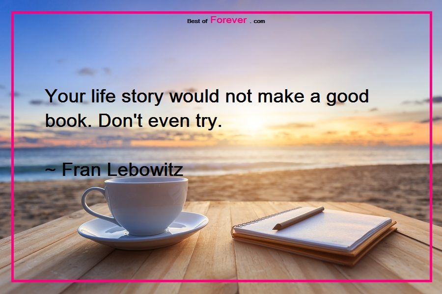 Life Story Quotes Facebook