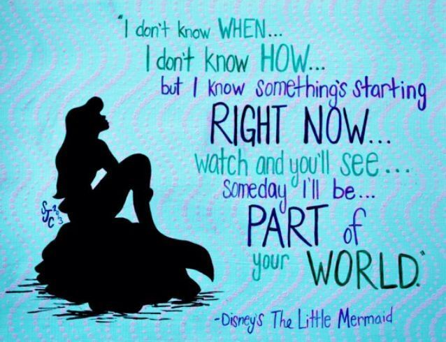 Little Mermaid Quotes Inspirational Facebook thumbnail