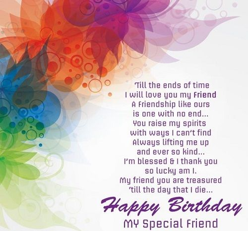 Long Birthday Wishes For Best Friend In English Pinterest thumbnail