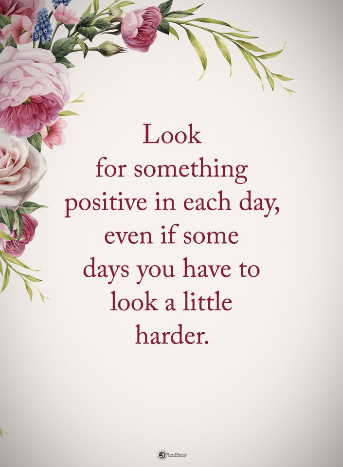Look For Something Positive In Each Day Quote Twitter thumbnail
