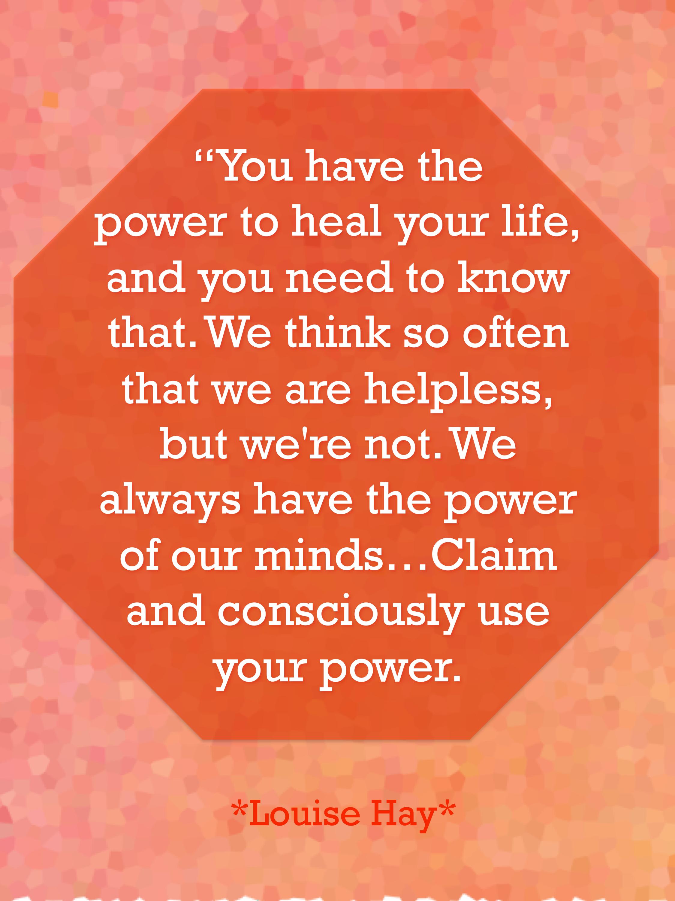 Louise Hay Quotes Healing Facebook thumbnail