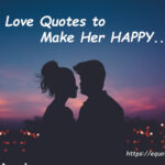 Love Quotes To Make Her Happy Facebook