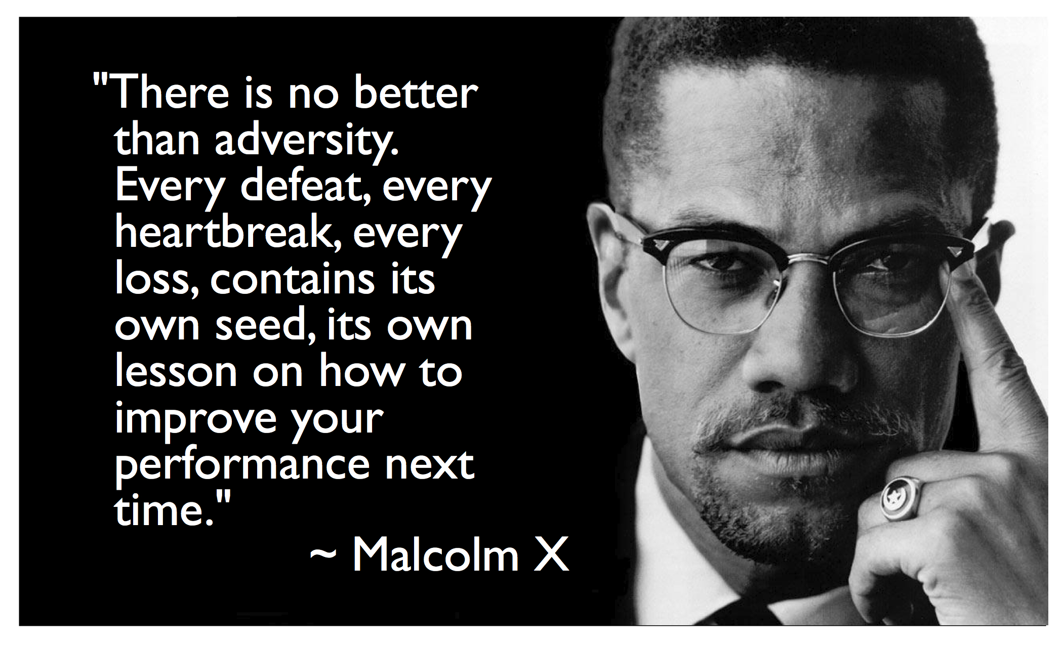Malcolm X Education Quote Pinterest thumbnail