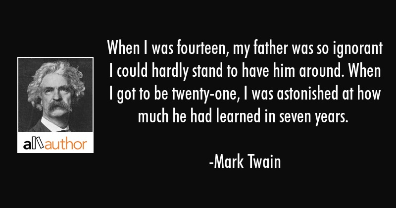 Mark Twain My Father Facebook thumbnail