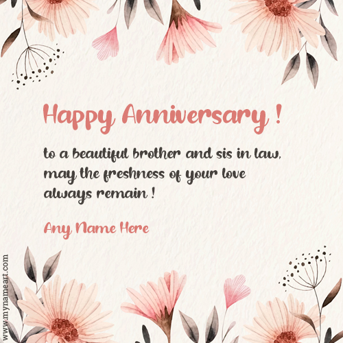 Marriage Anniversary Wishes For Brother And Sister In Law Tumblr thumbnail