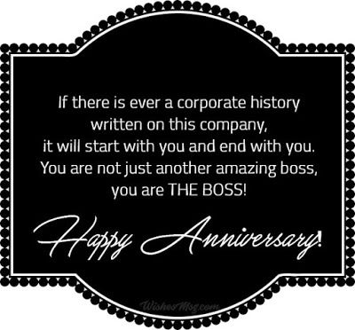 Marriage Anniversary Wishes To Boss thumbnail