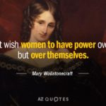 Mary Wollstonecraft Quotes On Women's Education Twitter