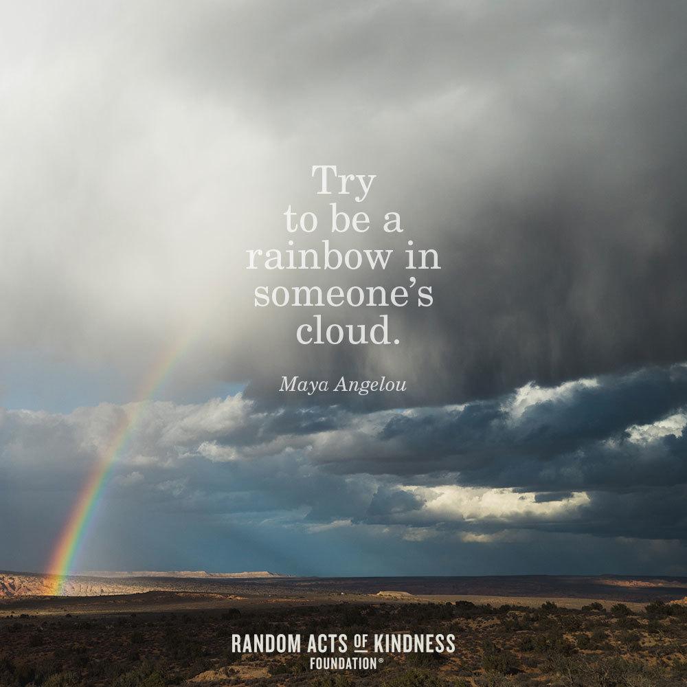 Maya Angelou Be A Rainbow Quote Tumblr thumbnail
