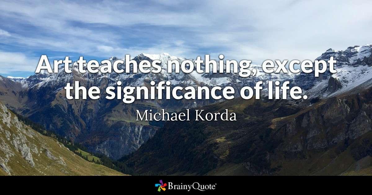 Michael Korda Quotes Tumblr thumbnail