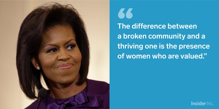Michelle Obama Quotes About Women Twitter thumbnail
