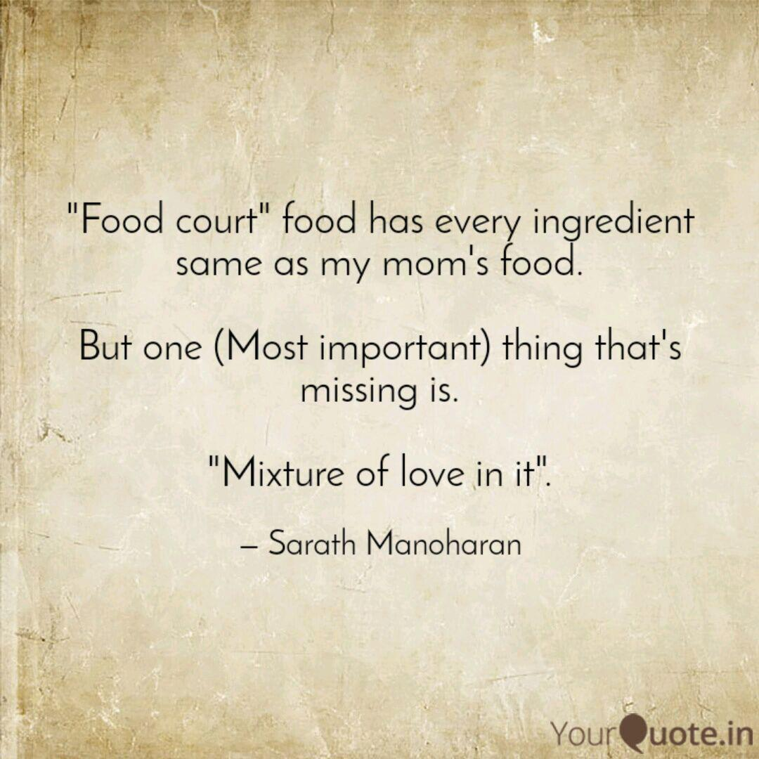 Missing Mom's Food Quotes thumbnail