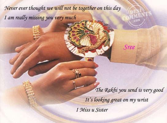 Missing Sister On Raksha Bandhan Quotes thumbnail