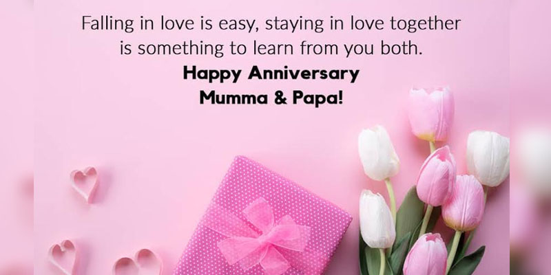 Mom And Dad Wedding Anniversary Quotes Pinterest thumbnail
