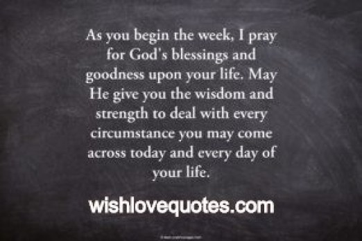 Monday Blessings Quotes Twitter thumbnail