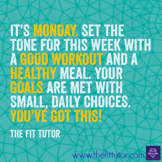 Monday Motivation Quotes Fitness Facebook thumbnail