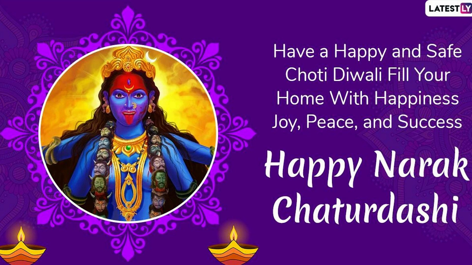 Naraka Chaturdashi Wishes thumbnail