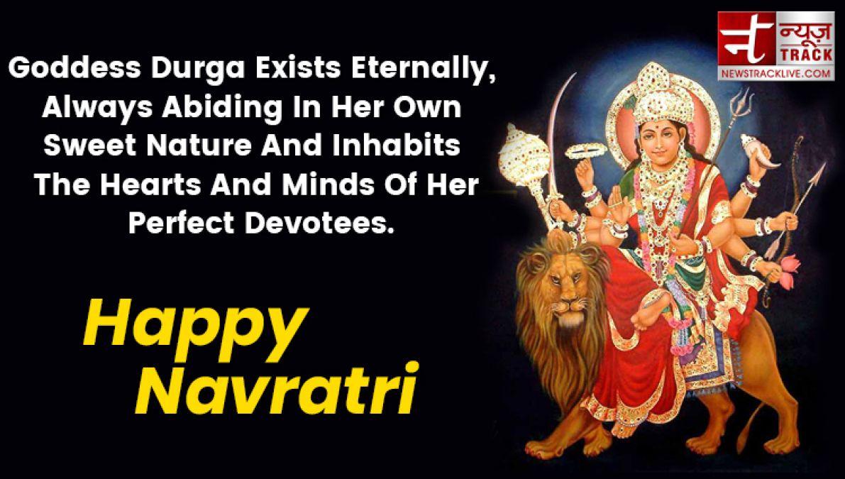 Navratri Wishes In English Twitter thumbnail