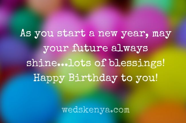 New Year And Birthday Wishes Together Facebook thumbnail