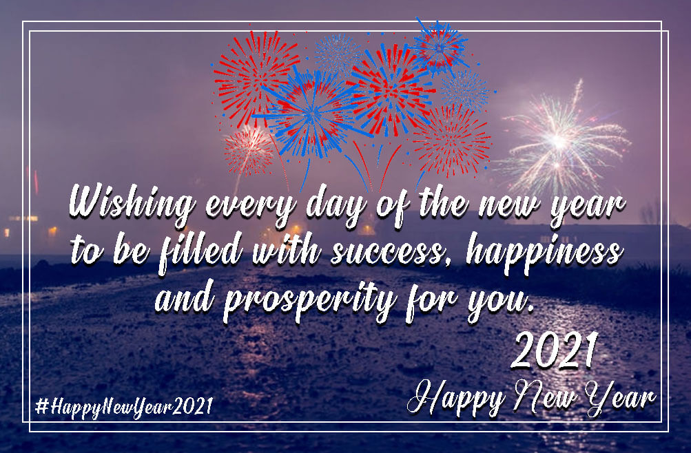 New Year Wishes For 2021 Pinterest thumbnail