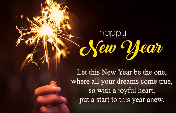 New Year Wishes For Bff Pinterest thumbnail