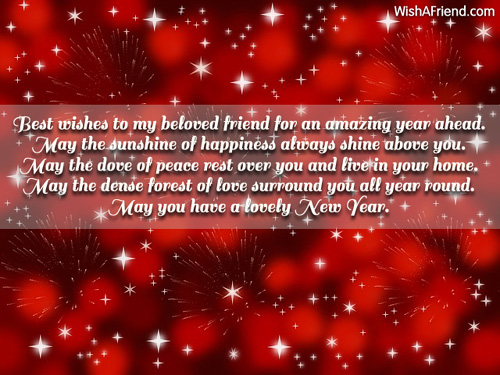 New Year Wishes To My Best Friend Twitter thumbnail