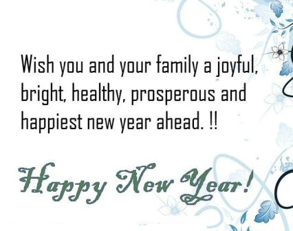 New Year Wishes Words In English Facebook thumbnail
