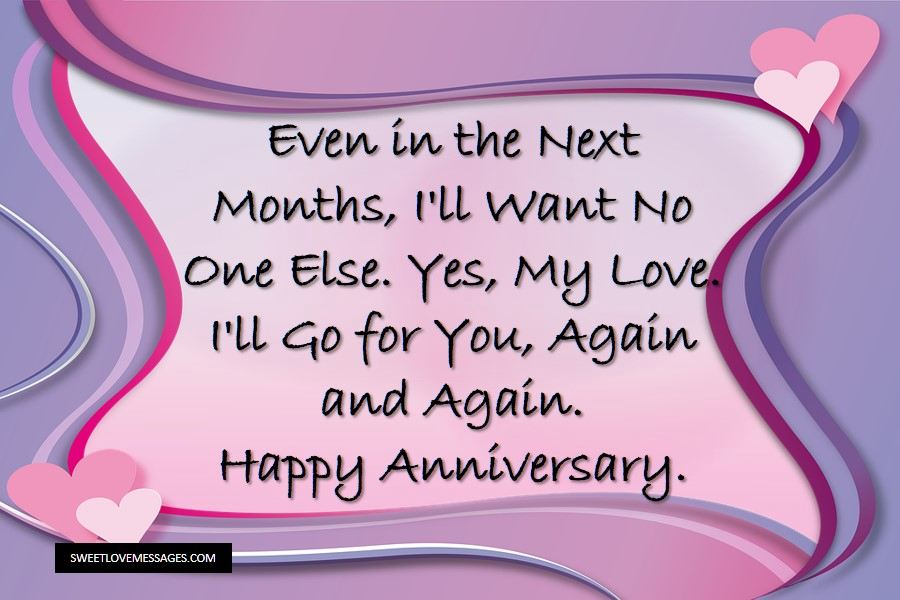 One Month Anniversary Message thumbnail