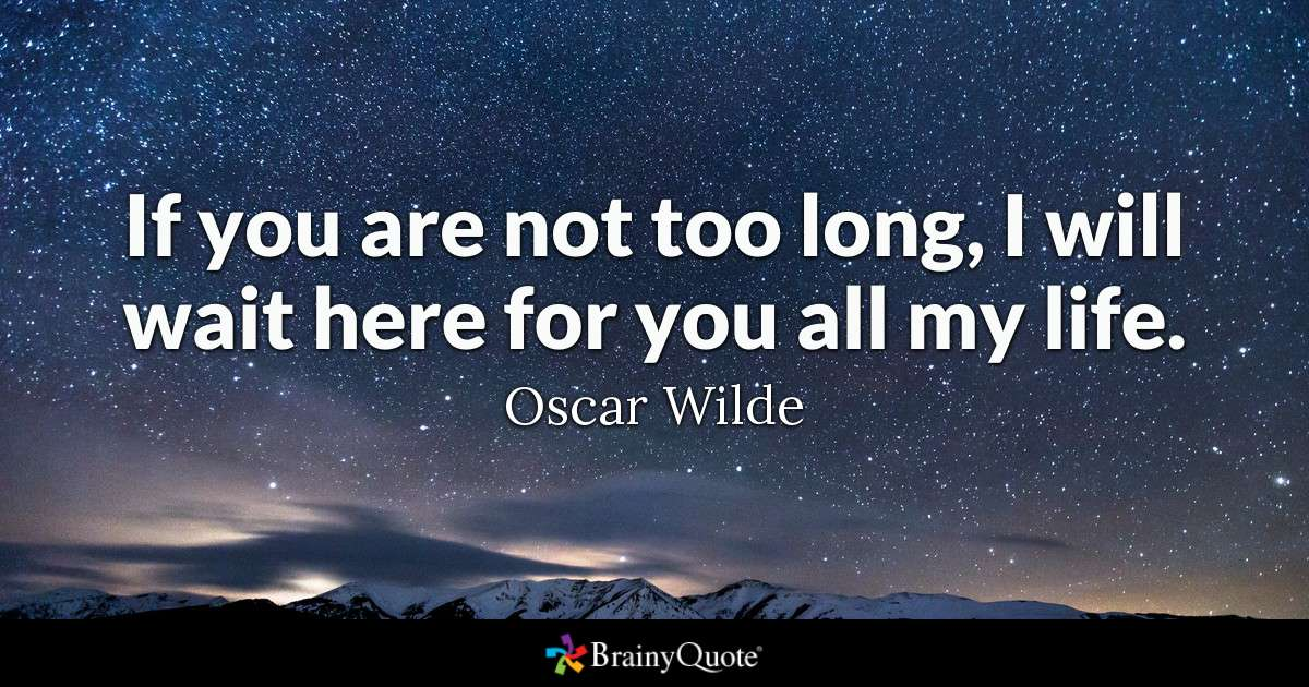 Oscar Wilde To Live Quote Facebook thumbnail