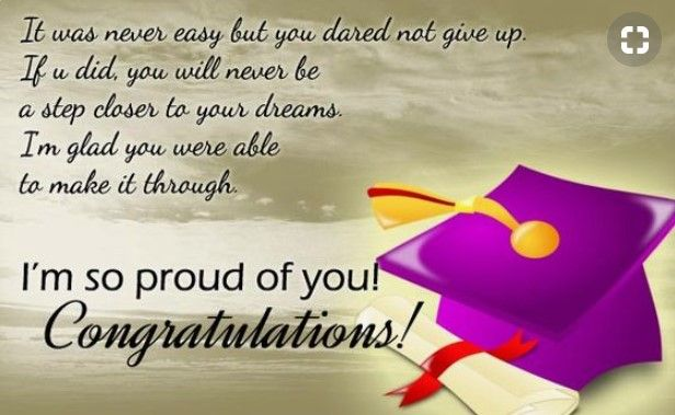 Parents Message To Graduating Daughter Pinterest thumbnail