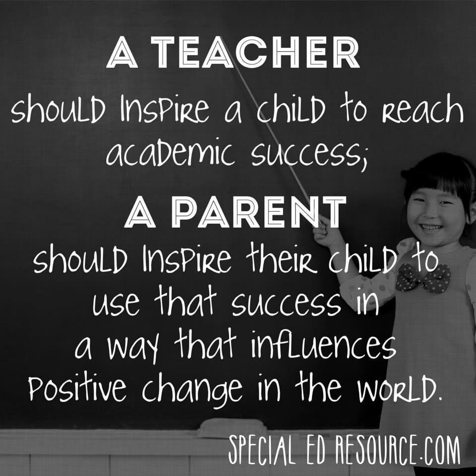 Parents Teachers Meeting Quotes Facebook thumbnail