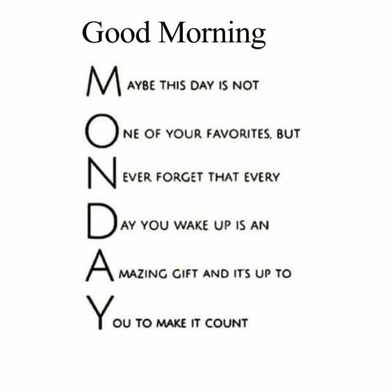 Positive Monday Morning Quotes Tumblr thumbnail