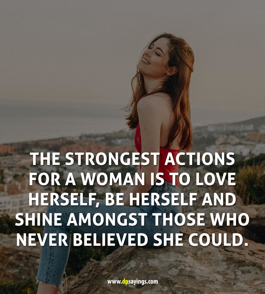Positive Quotes For Strong Woman Facebook thumbnail
