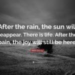 Positive Rain Quotes Tumblr