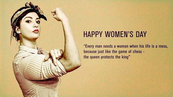 Powerful Women's Day Quotes Tumblr thumbnail