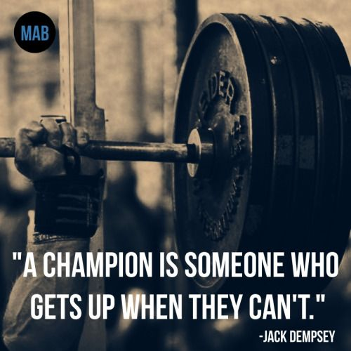 Powerlifting Inspirational Quotes Facebook thumbnail