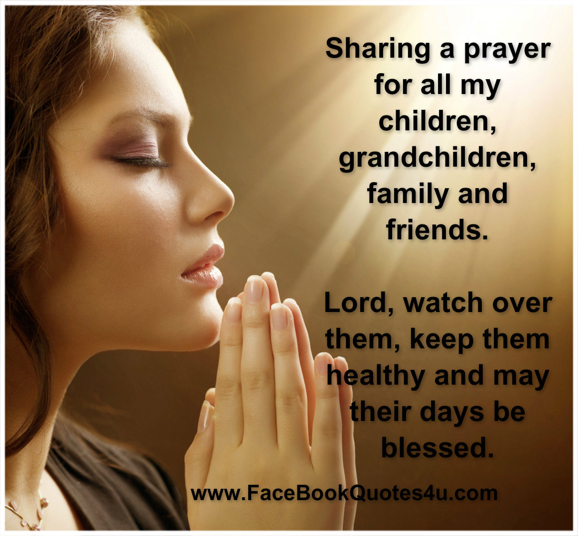 Prayer Quotes For Friends And Family Twitter thumbnail