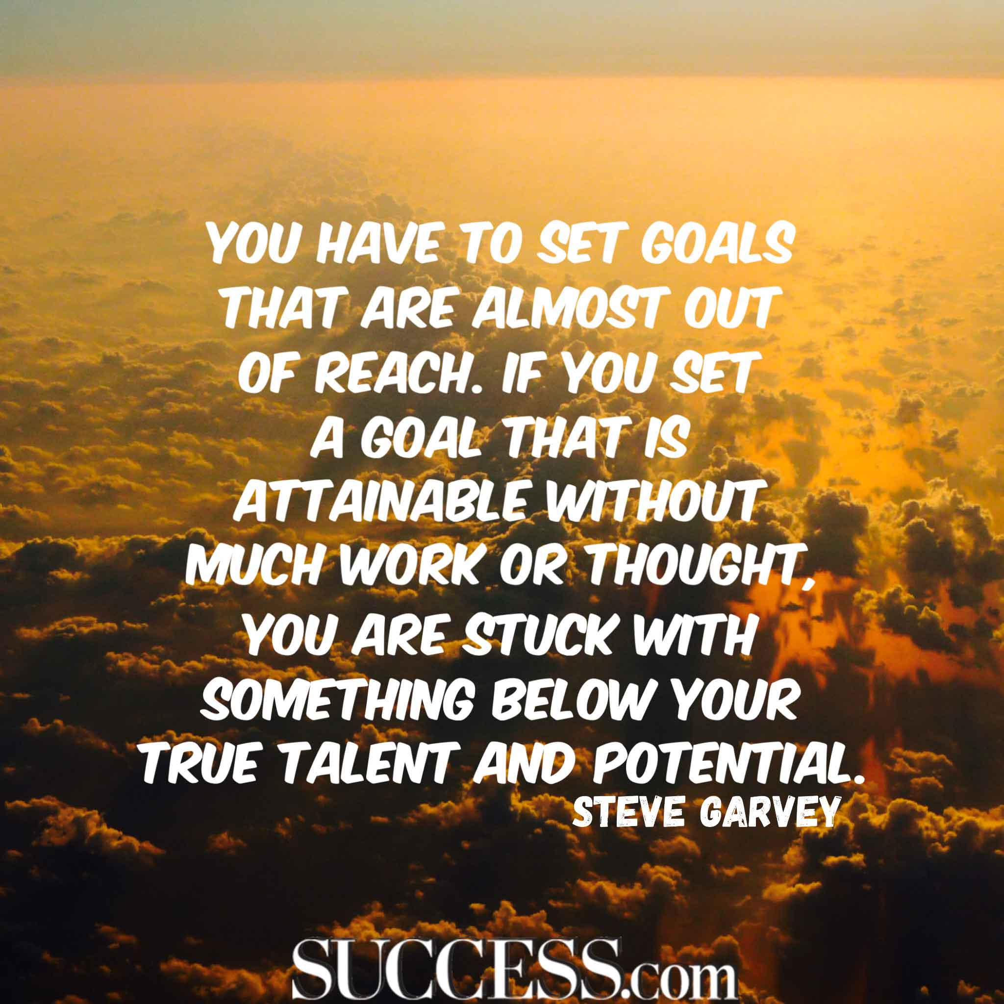 Quote About Success And Goals Facebook thumbnail