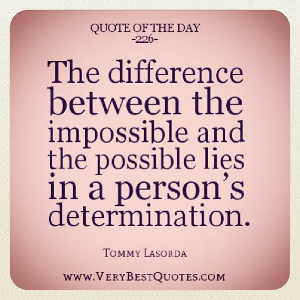 Quote Of The Day Determination thumbnail