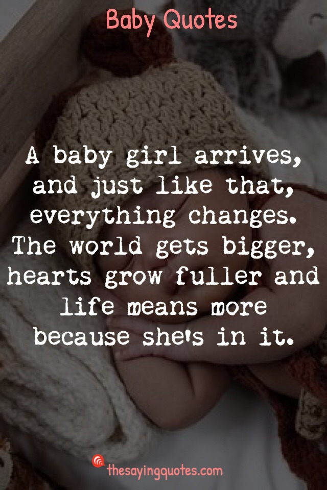 Quotes About Having A Baby Changing Your Life thumbnail