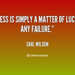 Quotes About Luck And Success Twitter